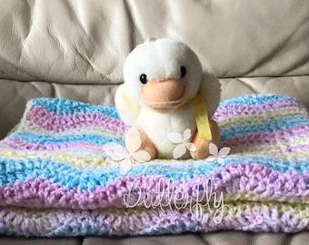 Multi Colour Crochet Baby Blanket