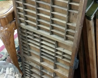 Type Set Printers Drawer Tray Vintage Original