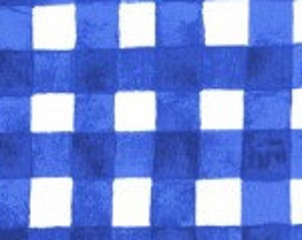 UK SHOP Sommer Blueberry Painted Gingham by Sarah Jane for Michael Miller