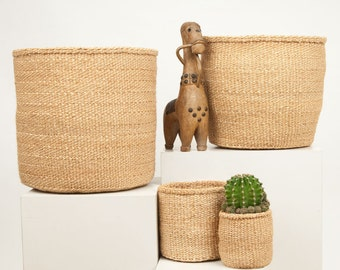Natural Woven Storage Basket