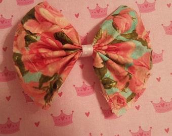 Cute Floral Bow