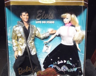 Mttel Barbie Loves Elvis New in box Collectors Edition