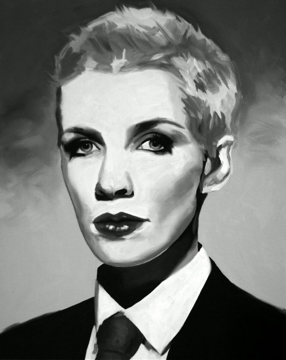 Annie Lennox Print from Oil Painting