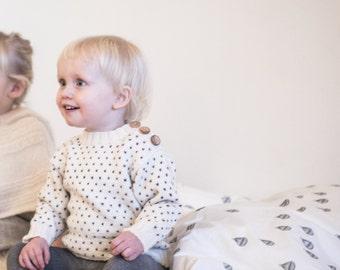 Svends sweater - Strikkeopskrift - Dansk