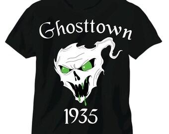 """Coming Soon Ghosttown 1935  """"glow in the dark"""" Green eyes"""