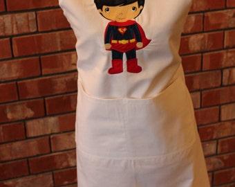 Super Hero Apron - Superman