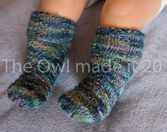 Baby socks Knitted socks baby gift thermal socks autumn kidswear baby boy girl wool socks kids socks  kids fall UK seller knit accessories
