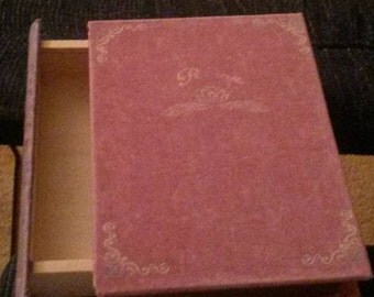 Canvas Covered Book Box