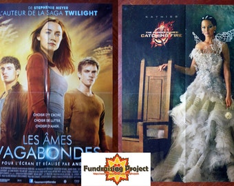 POSTER The Host / The Hunger Games