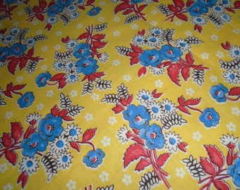 By the 1/2 Yard, Vintage Cotton Fabric