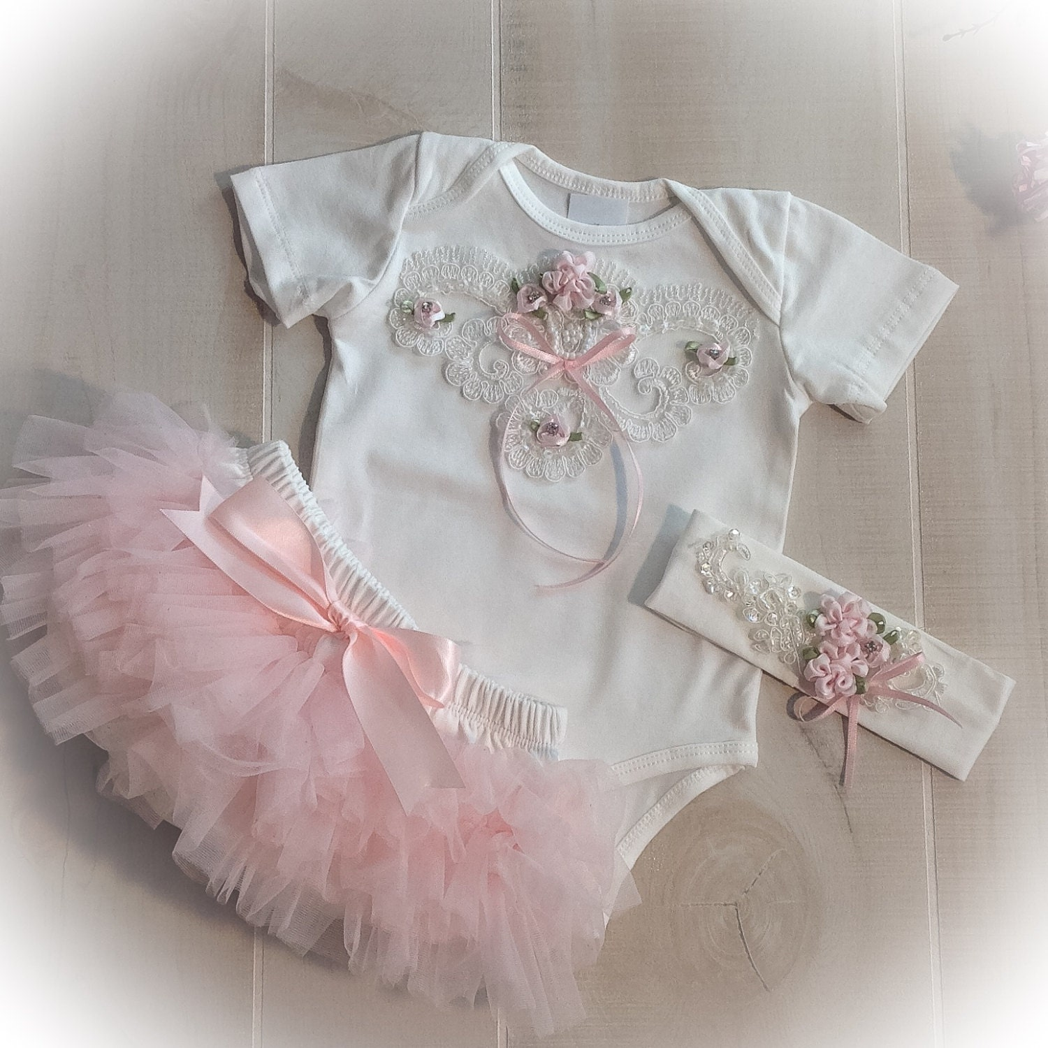 Baby Girl Tutu Outfit Newborn Girl Outfit Diaper Cover