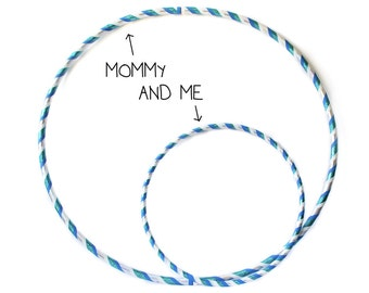 Polypro Mommy and Me Hula Hoop Set