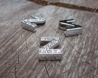 Letter Z Slot Charms ~1 pieces #100638