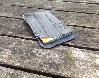 Upcycled Recycled Bicycle inner tube card / ticket holder