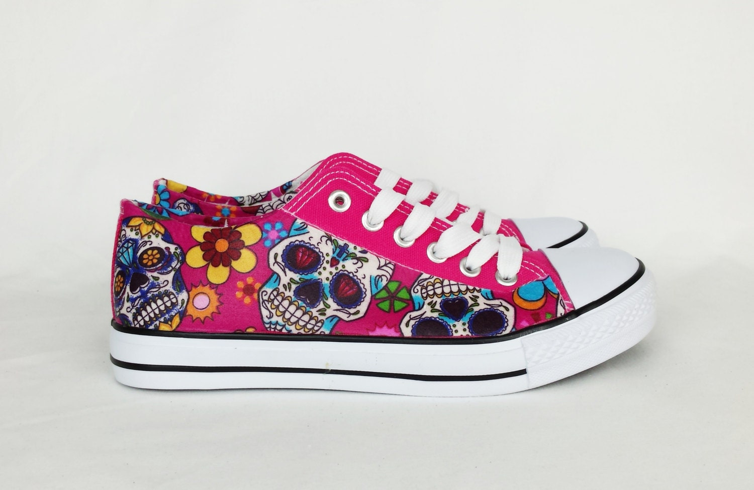 Day of the dead day of the dead shoes custom shoes women