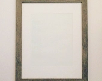 11x14 wooden frame/8x10 mat included