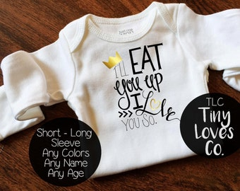 Where the wild things are. Baby outfits. Baby shower gift. Baby boy. Baby girl. Wild One. I Love You So. Coming Home Outfit. Going home.