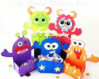 Monster Party/Monster Birthday Party/Monster Party Bags/Monster Goody Bags/Monster Party Boxes/Monster Party Favors