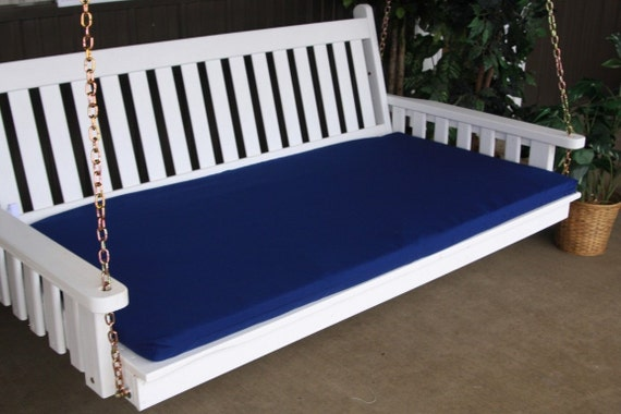 6 foot swing bed mattress cushion only 4 inches thick. Black Bedroom Furniture Sets. Home Design Ideas