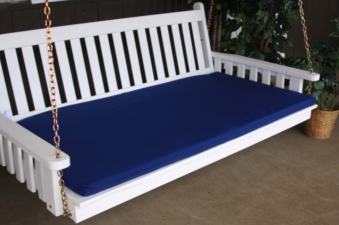 6-Foot Swing Bed Mattress Cushion ONLY 4-Inches Thick