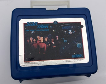 1980's Retro Star Trek Lunchbox and Thermos