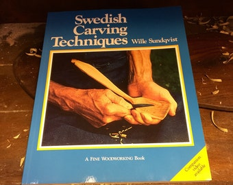 Brand new, Swedish Carving Techniques book