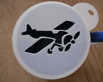 Plane Stencils Etsy
