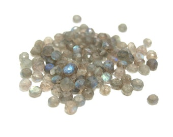50% OFF Labradorite Beads 4mm - Lot of 50