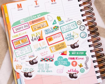 Planner Stickers To Go, 2! Moms On the Run (#060)