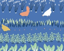 Harvest - Homestead Collection by Emily Isabella - Organic Cotton Fabric by the yard