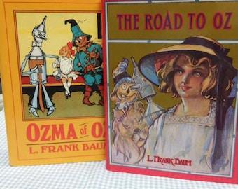 Set of Wizard of Oz books: Road to Oz & Ozma of Oz