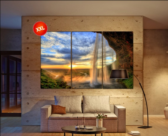 waterfall canvas wall art  waterfall canvas wall art art waterfall wall decoration waterfall large canvas wall art