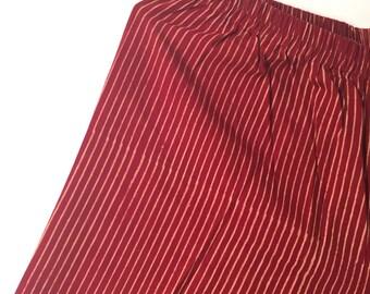 Handmade Handblock Printed Cotton Palazzo pants
