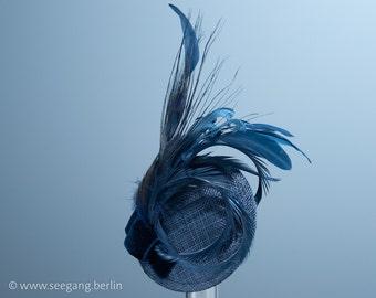Blue glamorous headdress