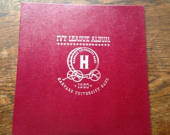 Ivy League Vinyl Record Album HARVARD University BAND 1950