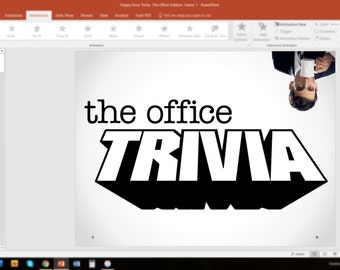 the office trivia game 1 powerpoint customizable pub style trivia