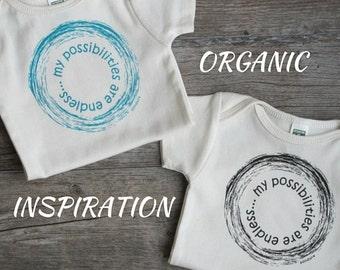 Organic Cotton Baby Onesie, Organic Baby Clothes, Gender Neutral Baby Gift, Unique Baby Onesie, Cute Baby Clothes, Organic bodysuit