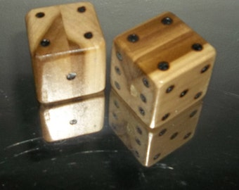 Giant Wooden Dice Set of Six