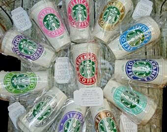 Teacher Coffee Cup Gift, Personalized Starbucks Tumbler • Mug • Tea Cup Genuine Starbucks [Teacher appreciation gift, PTA Teacher gift idea]