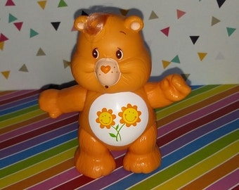 Vintage 1980s Care Bear Friend Bear PVC Figure - Old Store Stock