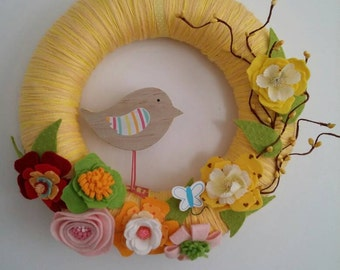 Wreath summer wreath