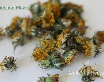 Dandelion Flowers (Organic & Dried)