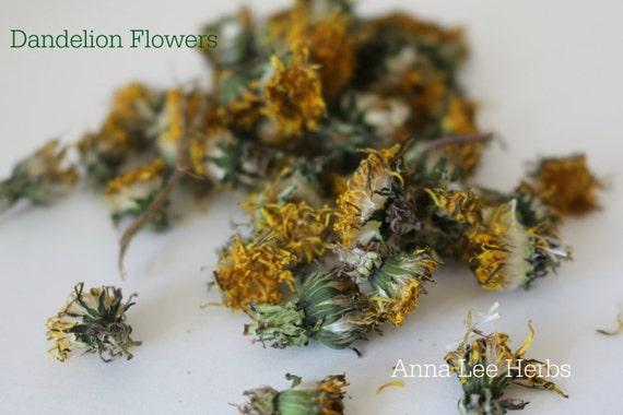 Dandelion Flowers Organic Amp Dried