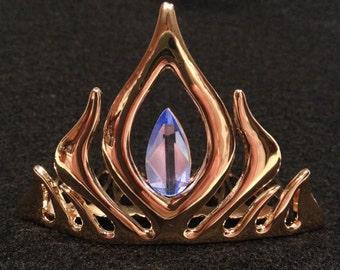 Frozen Snow Queen tiara metal comb