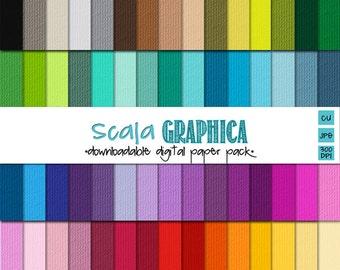 Cardstock {Textured} Digital Paper Basic 45 [Instant Download]