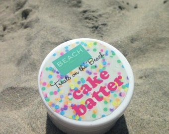 """CAKE BATTER Body Butter (Exclusive """"Treats on the Beach"""" collection by BEACH)"""