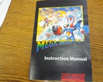 Mega Man X 3 manual