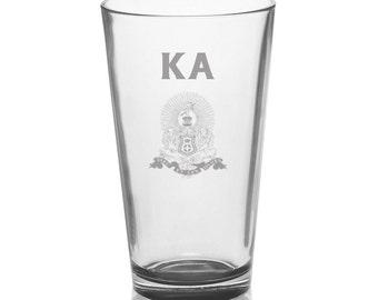 Kappa Alpha Mixing Glass