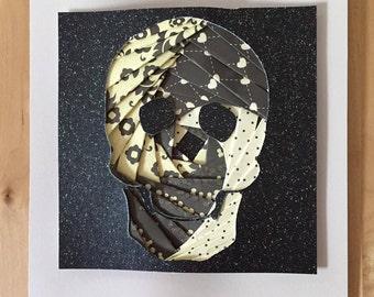 Iris Folded Skull