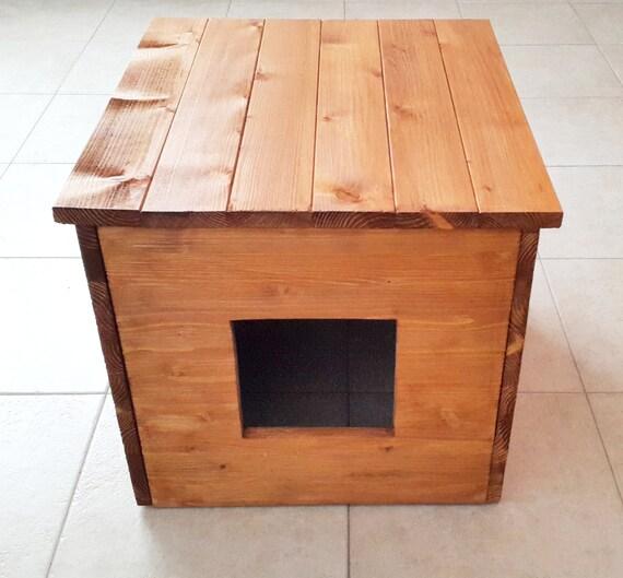 cat litter box cover cat house cat litter box cabinet made. Black Bedroom Furniture Sets. Home Design Ideas